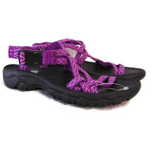 Aspen Purple Pink Sport Sandals 6 Webbed Strap